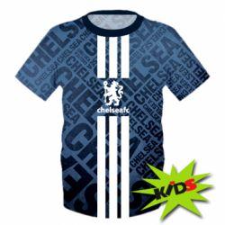 Купить Челси (Chelsea), Детская 3D футболка Chelsea FC, FatLine