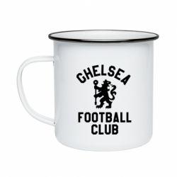 Кружка емальована Chelsea Football Club