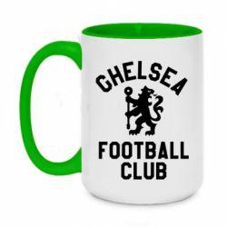 Кружка двоколірна 420ml Chelsea Football Club