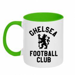 Кружка двоколірна 320ml Chelsea Football Club