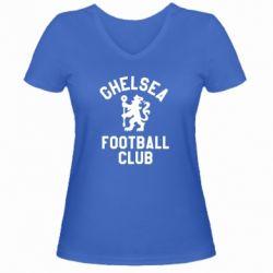 Жіноча футболка з V-подібним вирізом Chelsea Football Club