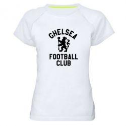 Жіноча спортивна футболка Chelsea Football Club