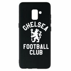 Чохол для Samsung A8+ 2018 Chelsea Football Club