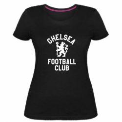 Жіноча стрейчева футболка Chelsea Football Club