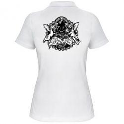 Женская футболка поло Chemodan Clan Angels - FatLine