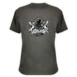 Камуфляжная футболка Chemodan Clan Angels - FatLine