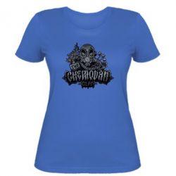 Женская футболка Chemodan Clan Art