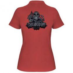Женская футболка поло Chemodan Clan Art - FatLine