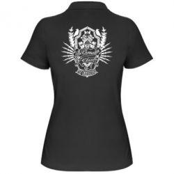 Женская футболка поло Chemodan Clan PTZ Underground