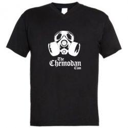 Мужская футболка  с V-образным вырезом Chemodan - FatLine