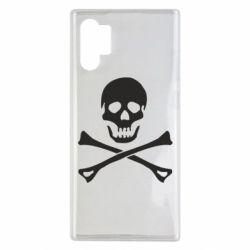 Чохол для Samsung Note 10 Plus Череп та кістки