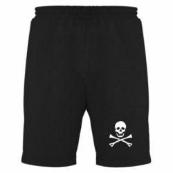 Мужские шорты Череп и кости