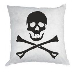 Подушка Череп и кости