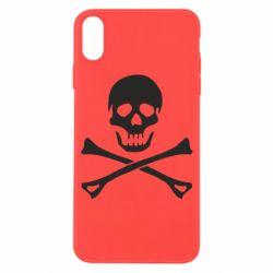 Чохол для iPhone X/Xs Череп та кістки
