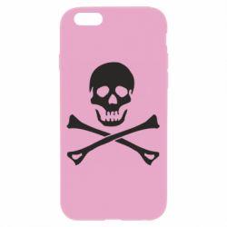 Чохол для iPhone 6/6S Череп та кістки