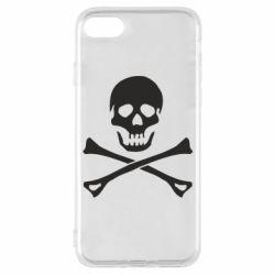 Чохол для iPhone 7 Череп та кістки