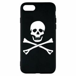 Чохол для iPhone 8 Череп та кістки