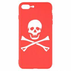 Чохол для iPhone 8 Plus Череп та кістки