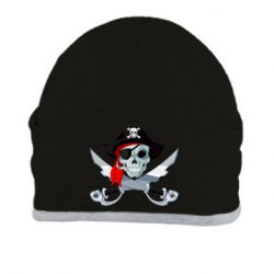 Шапка Череп пирата