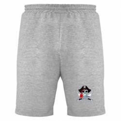 Мужские шорты Череп пирата