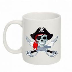 Кружка 320ml Череп пирата