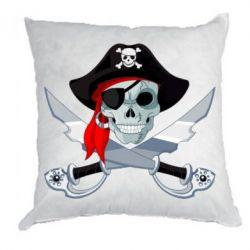 Подушка Череп пирата