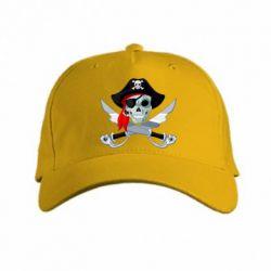 Кепка Череп пирата