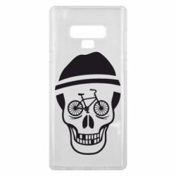Чехол для Samsung Note 9 Череп велосипедиста