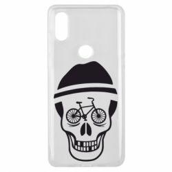 Чехол для Xiaomi Mi Mix 3 Череп велосипедиста