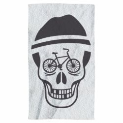 Полотенце Череп велосипедиста