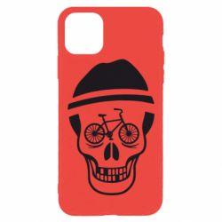 Чехол для iPhone 11 Pro Max Череп велосипедиста