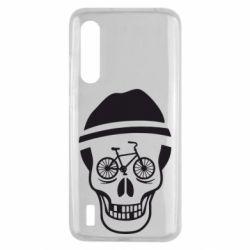 Чехол для Xiaomi Mi9 Lite Череп велосипедиста