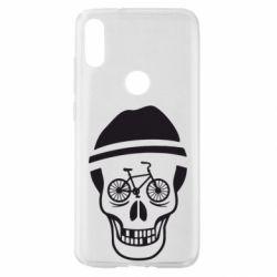 Чехол для Xiaomi Mi Play Череп велосипедиста