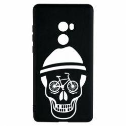 Чехол для Xiaomi Mi Mix 2 Череп велосипедиста
