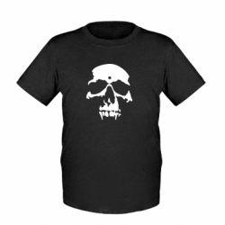 Детская футболка Череп - FatLine