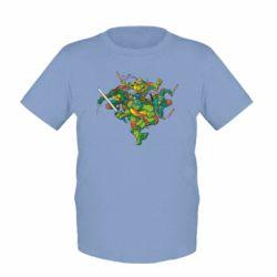 Детская футболка Черепашки-ниндзя