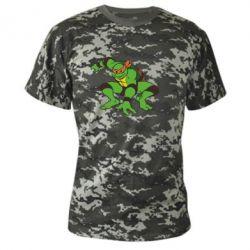 Камуфляжная футболка Черепашки-ниндзя