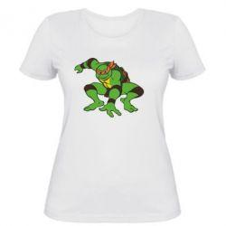Женская футболка Черепашки-ниндзя - FatLine
