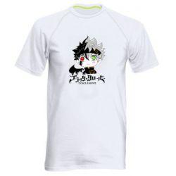 Мужская спортивная футболка Черный клевер Аста