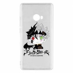 Чехол для Xiaomi Mi Note 2 Черный клевер Аста