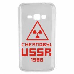 Чехол для Samsung J1 2016 Chernobyl USSR