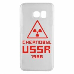 Чехол для Samsung S6 EDGE Chernobyl USSR - FatLine