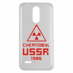 Чехол для LG K7 2017 Chernobyl USSR - FatLine