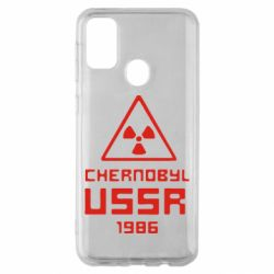 Чехол для Samsung M30s Chernobyl USSR
