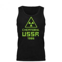 Мужская майка Chernobyl USSR