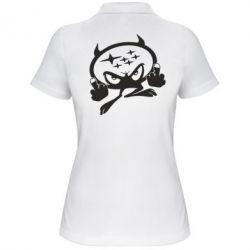 Женская футболка поло Чертик Subaru - FatLine