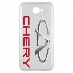 Чехол для Huawei Y7 2017 Chery Logo - FatLine