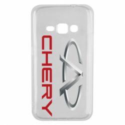 Чехол для Samsung J1 2016 Chery Logo - FatLine