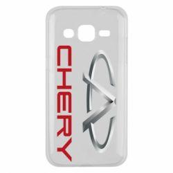 Чехол для Samsung J2 2015 Chery Logo - FatLine