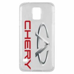 Чехол для Samsung S5 Chery Logo